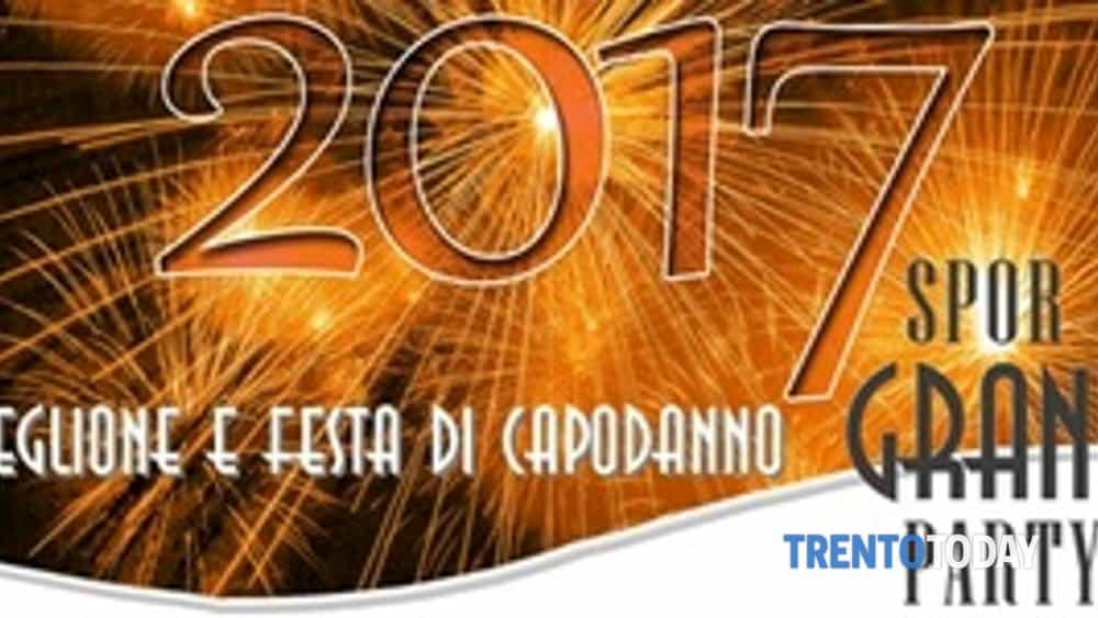 spor grand party - veglione di capodanno aspettando il 2017-2