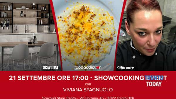A Trento lo show-cooking della chef Viviana Spagnuolo