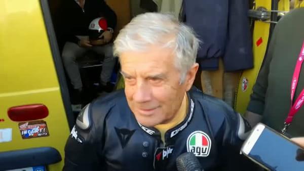 """Moto, il grande Agostini a Trento: """"Qui ho capito che andare in moto era il mio mestiere"""""""