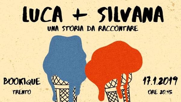 Luca + Silvana, una storia da raccontare, un evento alla Bookique per presentare il progetto