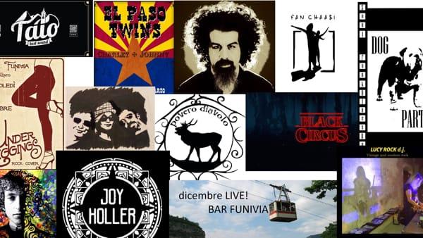 Dicembre con la musica dal vivo al Bar Funivia