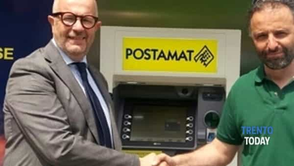 poste italiane: installati i primi postamat della provincia di trento nei comuni di carano, frassilongo e torcegno-2