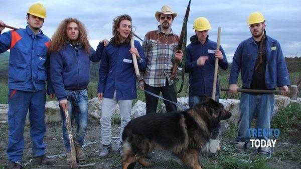 """Gli """"Etruschi from Lakota"""" al festival di Croviana"""