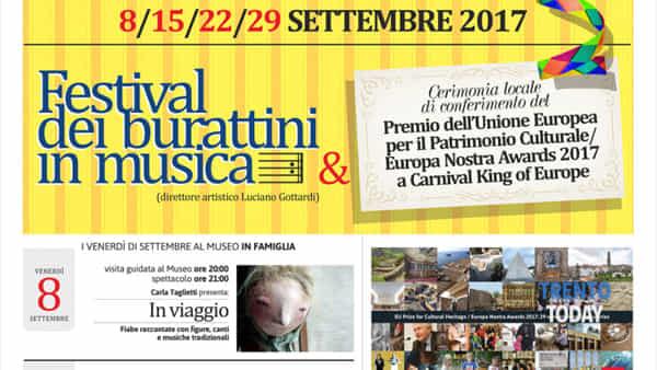 Le notti di San Michele, quattro venerdì di settembre fra teatro di figura e musica
