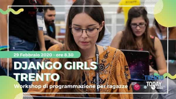 Django girls a Trento: il web visto dalle donne