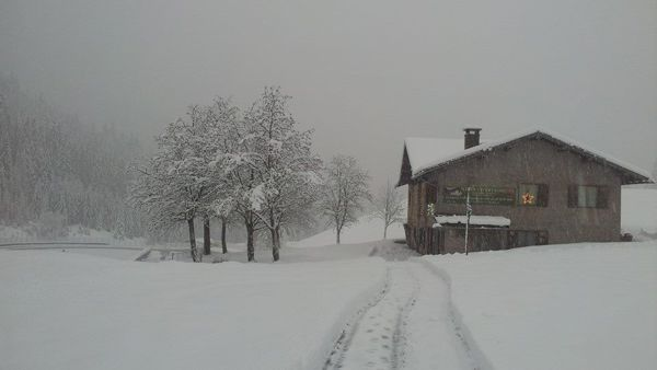 foto: Malga Civertaghe in inverno