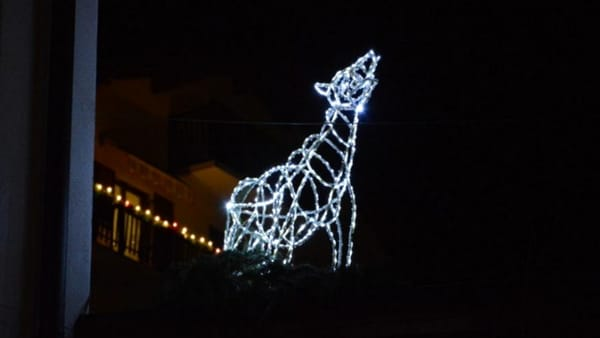 Pinè, Santa Lucia arriva con le luci d'artista