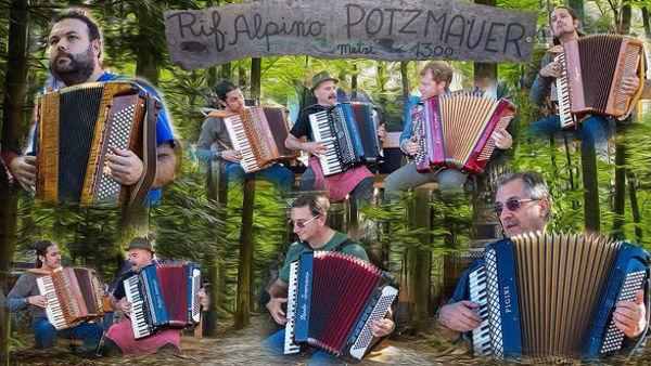 """Al rifugio Potzmauer la """"Gran Festa della Fisarmonica"""""""