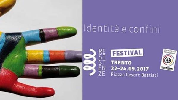Festival delle resistenze, dal 22 al 24 settembre a Trento