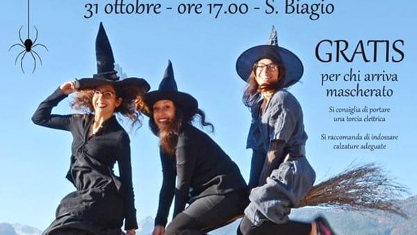 Halloween: escursione con le streghe al Parco Novella