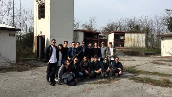 Gli studenti dell'Enaip trasformano una ex base Nato in osservatorio scientifico