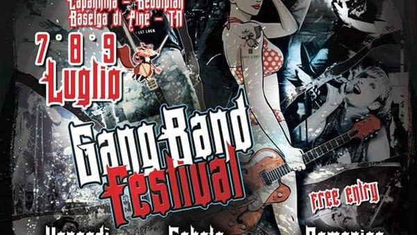 Gang Band Festival, 3 giorni rock sull'altopiano di Pinè