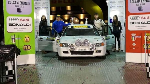 Motori: due trentini secondi al rally 'Coppa Valtellina' di Sondrio