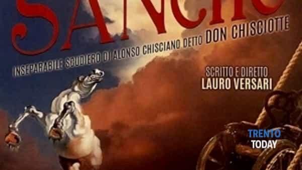 Sancho inseparabile scudiero di Alonso Chisciano detto Don Chisciotte