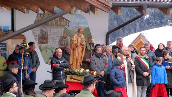 A Madonna di Campiglio c'è la festa di Sant'Antonio