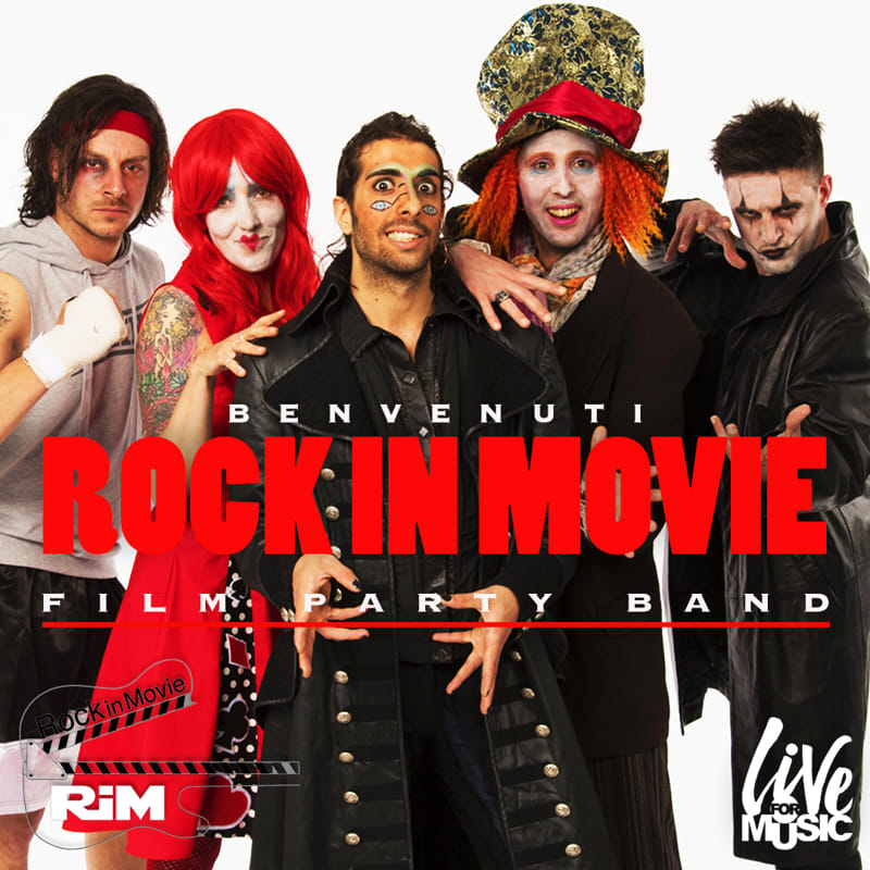 Rock in Movie, la band del Capodanno trentino