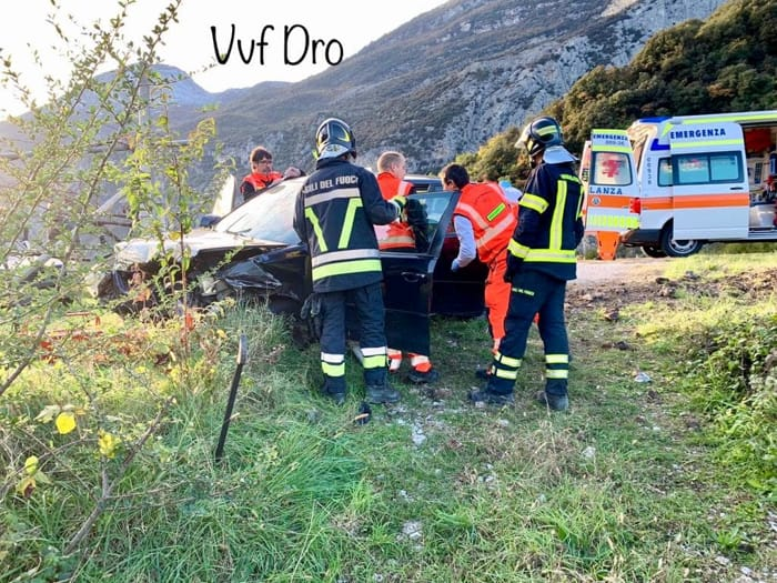 Incidente Dro auto 1