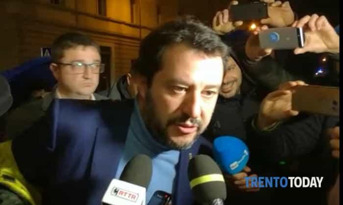 Salvini a Trento-2